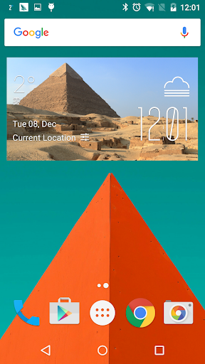 Egypt Weather Widget