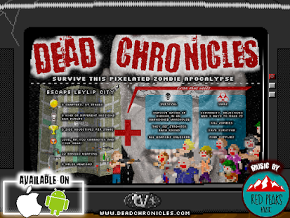 Dead Chronicles: retro pixelated zombie apocalypse Screenshot