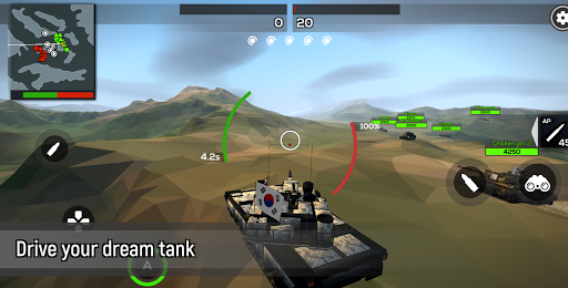 Télécharger Gratuit Poly Tank 2: Battle Sandbox APK MOD (Astuce) screenshots 1