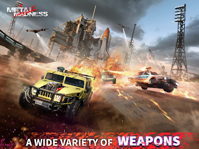 METAL MADNESS PvP: Car Shooter & Twisted Action 8