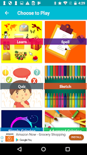 Kidzify - Learn, Spell, Quiz, Draw, Color & Games - náhled