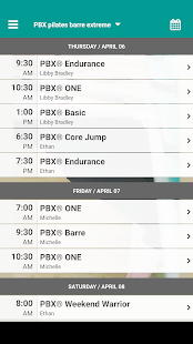 PBX pilates barre extreme- screenshot thumbnail