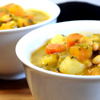 Root Vegetable Vegetarian Cassoulet