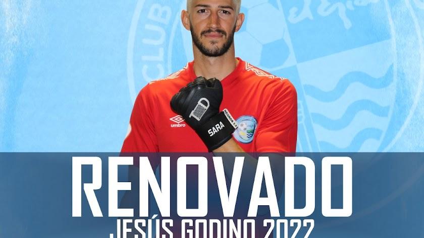 Jesús Godino renueva con el CD El Ejido.