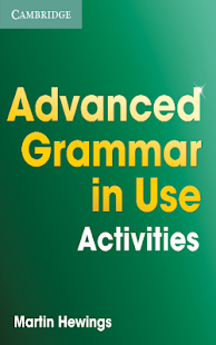 Advanced Grammar  Activities Screenshot
