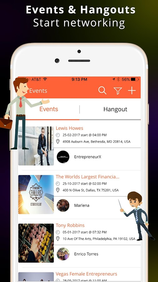 EntrepreneurX™ Let's Connect- screenshot