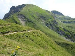 Photo: Großer Seekopf mit Höhenweg zum Prinz-Luitpold-Haus