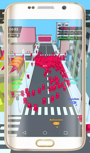 Crowd Popular  City Wars Simulator  captures d'u00e9cran 2