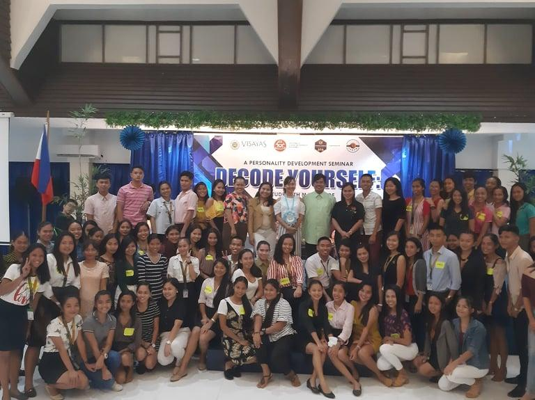 Decode Yourself: A Personality development seminar organized by 2nd year BSTM students.