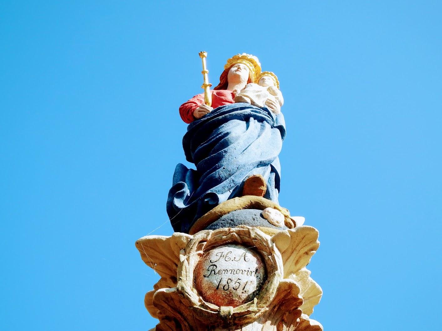 Répceszentgyörgy - Mária-oszlop