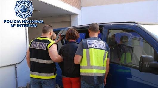 Imagen de archivo del traslado de la acusada.