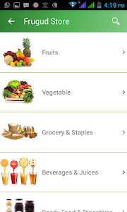 Frugud - Online Grocery Basket screenshot 2