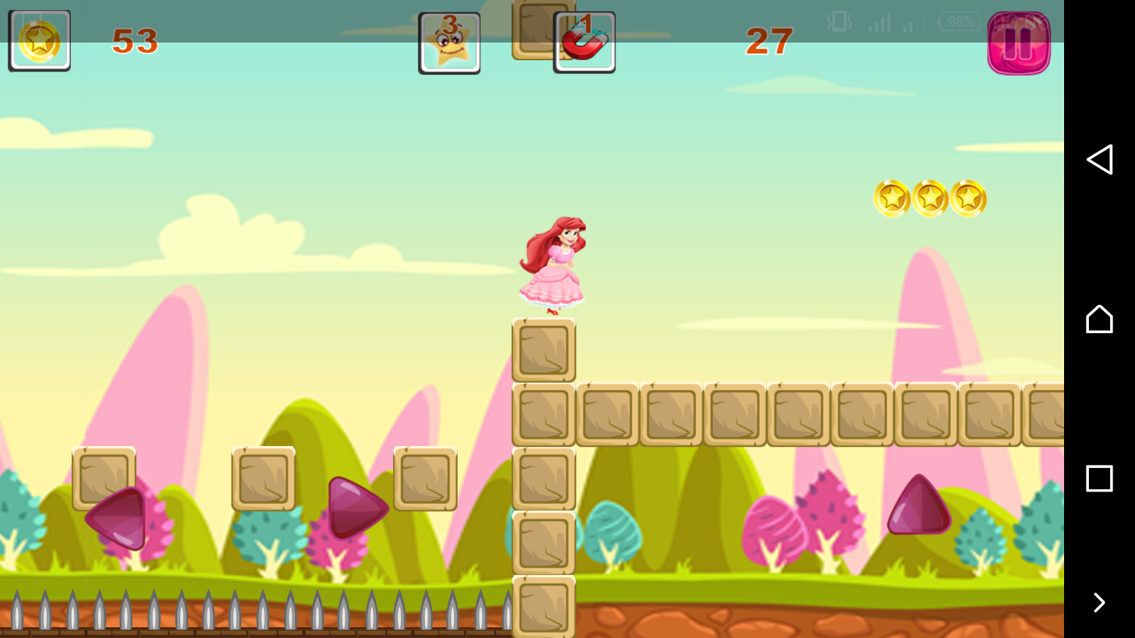 adventures princess ariel world run first game android apps on