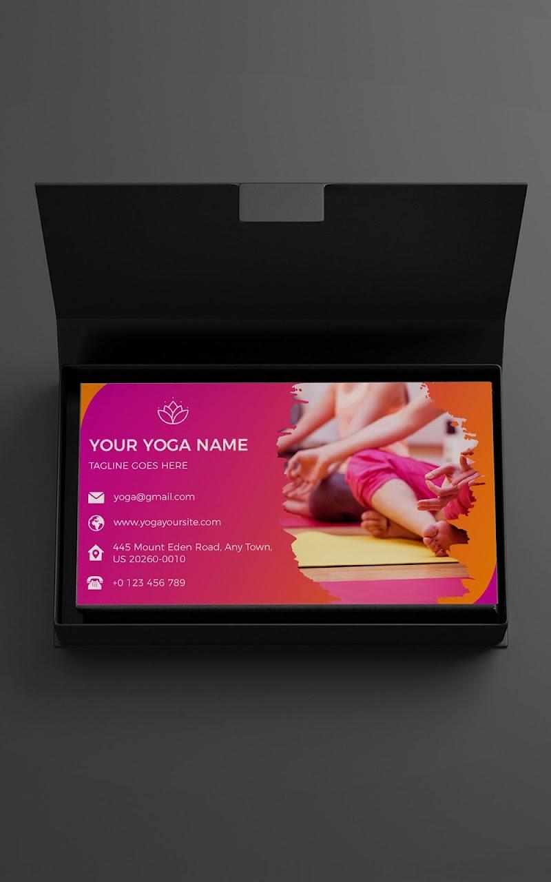Business Card Maker - Branding Template Editor Screenshot 18