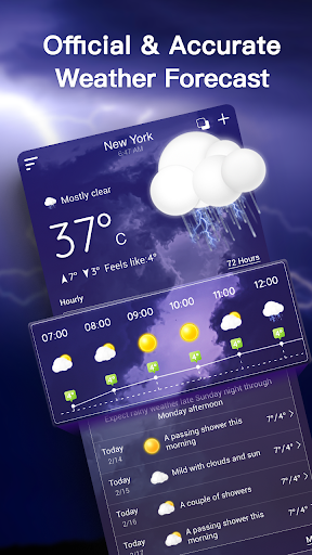 Live Weather Forecast: Accurate Weather 1.2.7 screenshots 3
