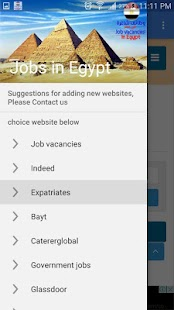 Job Vacancies in Egypt - náhled