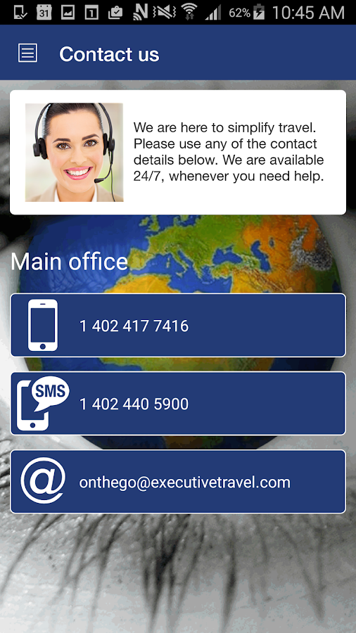Executive Travel On The Go- screenshot