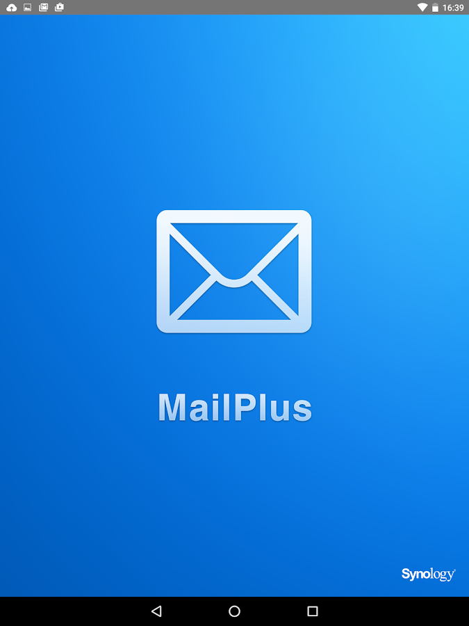 Synology MailPlus- screenshot