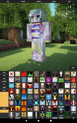 Custom Skin Creator For Minecraft  screenshots 8