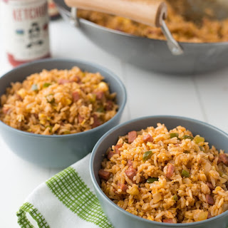 Red Jambalaya Fried Rice