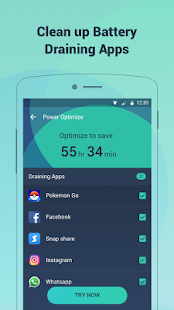 Battery Doctor-Battery Life Saver & Battery Cooler- screenshot thumbnail