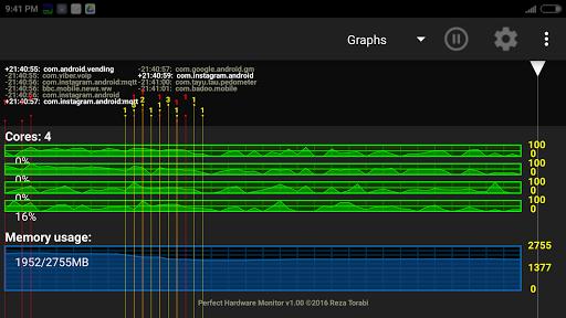 Perfect Hardware Monitor screenshot 3