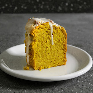 Quitter's Mango Sauce Cake.