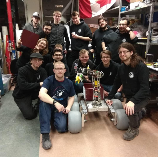 The Space Concordia Robotics Division Team