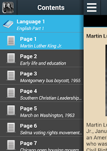 Martin Luther King Biography - náhled