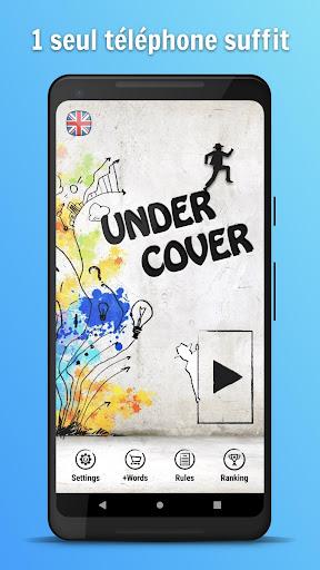 Undercover ^^ - Jeu de mots/logique entre amis  captures d'écran 1