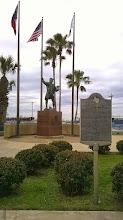 Photo: Port of Corpus Christi - Columbus statue