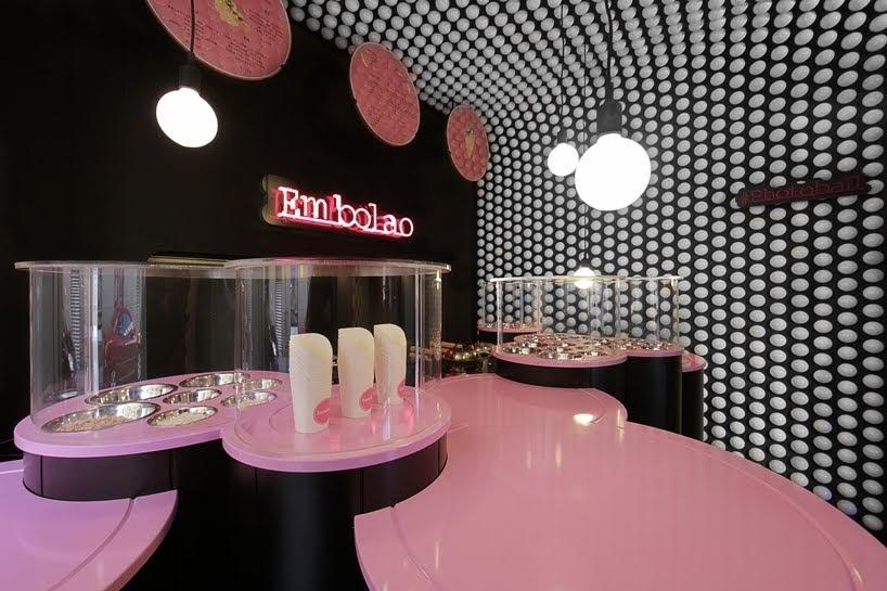 Mecanismo ha diseñado un restaurante de comida rápida en Madrid, España