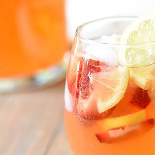 Strawberry Lemonade Sangria.