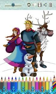 Drawings to paint Frozen- screenshot thumbnail