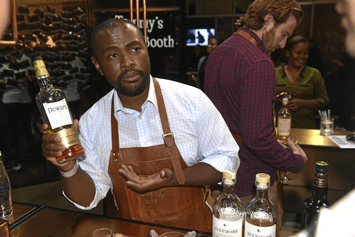 Popular tipple: About 10,000 people attend the three-day Whisky & Spirits Live festival each year. Picture: FREDDY MAVUNDA
