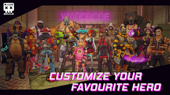 Rage Squad: Online PvP Brawl Game Apk Download For Android 4