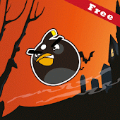 Lazy Bird Ninja Crash Fun Game