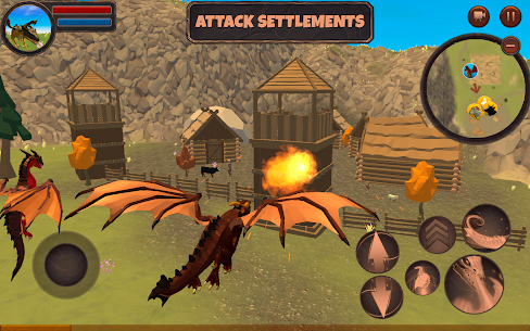 Dragon Simulator 3D: Adventure Game  Apk Download For Android and Iphone 4