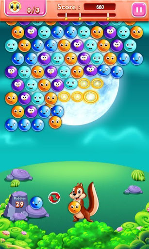 Bubble Shooter : Save The Birds android2mod screenshots 1