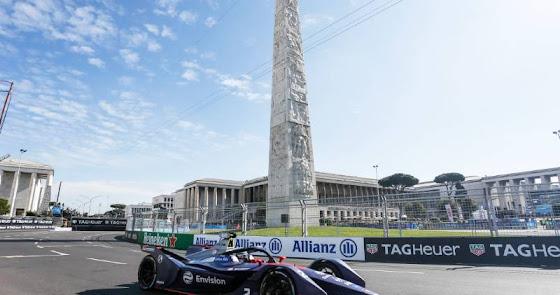 La Fórmula E aterriza en Europa con dos pruebas en el corazón de Roma