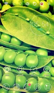 Lima beans Launcher Theme- screenshot thumbnail