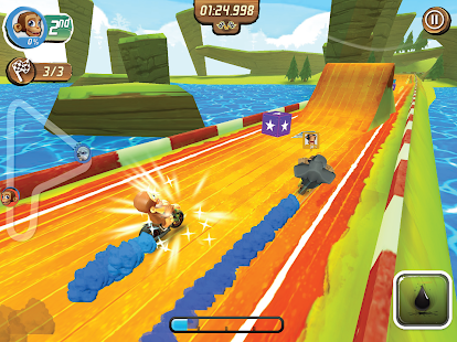 Nitro Chimp Grand Prix- screenshot thumbnail