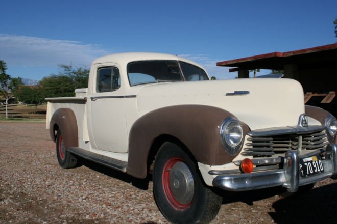 1946 Hudson Pick-up Hire CA