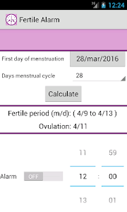 Fertile Alarm screenshot 0