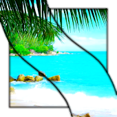 Paradise Beach Live Wallpaper