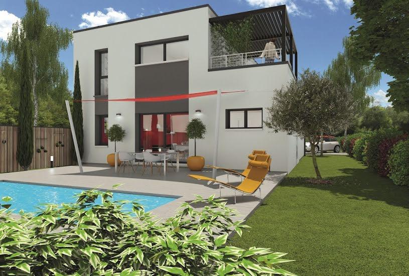 Vente Terrain + Maison - Terrain : 550m² - Maison : 115m² à Pessac (33600)