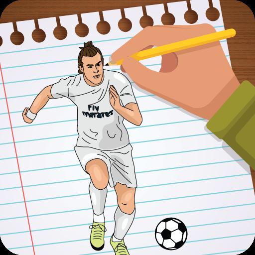 Draw Football 3D