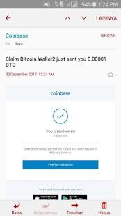 Claim Bitcoin Wallet2 - náhled