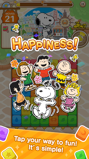 SNOOPY Puzzle Journey 1.05.00 screenshots 1