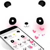 Cute Blusher Panda Theme